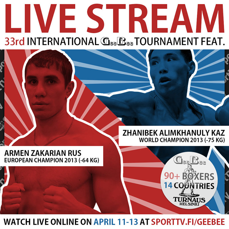 """International """"GeeBee"""" Tournament To Be Streamed Live"""